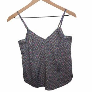 Anthropologie Floreat Patterned Sleeveless Top